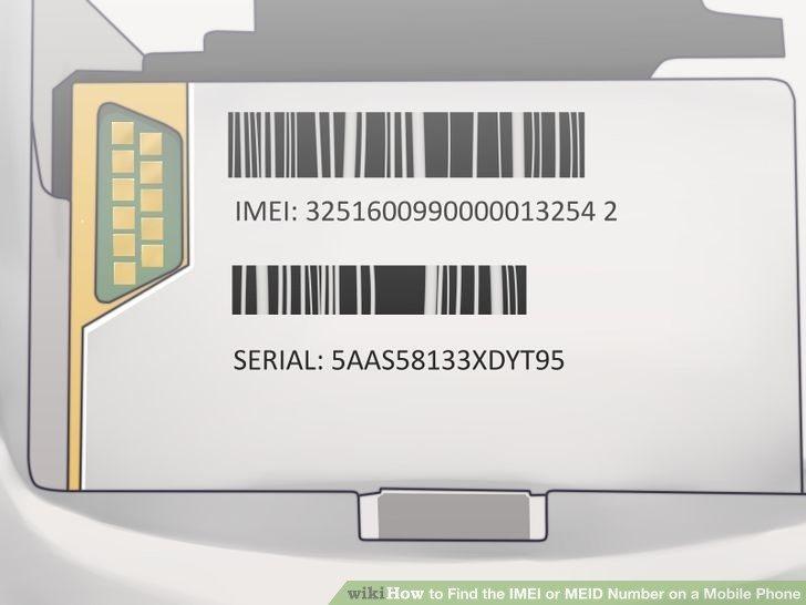 یافتن شماره IMEI یا MEID در موبایل ها